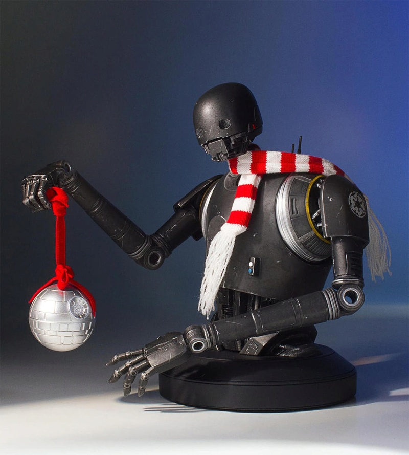 Gentle Giant - K-2SO Holiday Deluxe Mini Bust Gg-k2s12