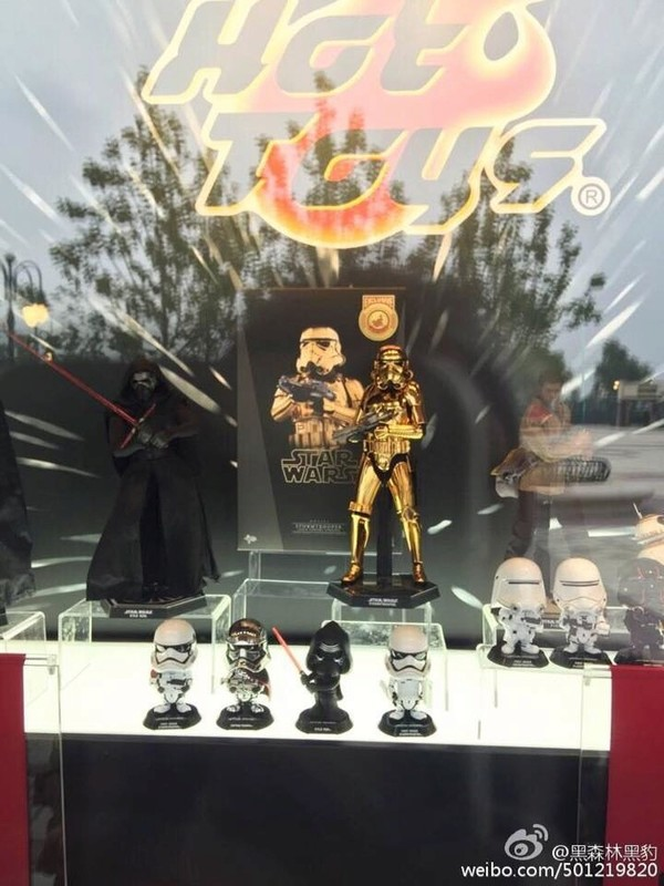 Hot Toys Star Wars 1/6 Scale Gold Stormtrooper Figure Gold_s10