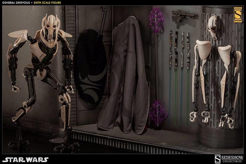 Sideshow - General Grievous - Sixth Scale Figure Grievo21