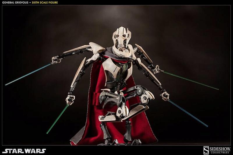 Sideshow - General Grievous - Sixth Scale Figure Grievo24