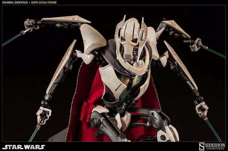 Sideshow - General Grievous - Sixth Scale Figure Grievo27
