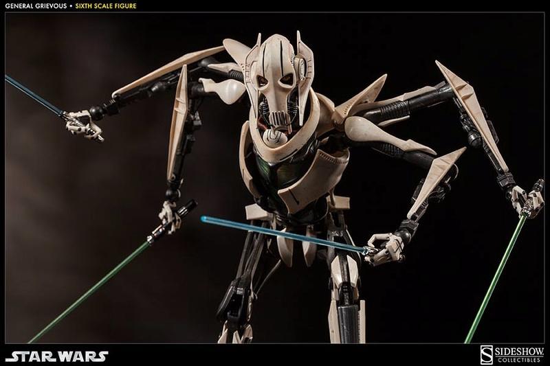 Sideshow - General Grievous - Sixth Scale Figure Grievo28