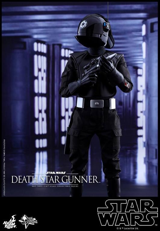 Hot Toys Star Wars - 1/6th scale Death Star Gunner Figure Gunner11