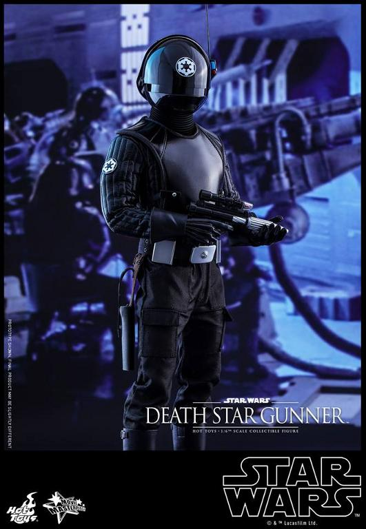 Hot Toys Star Wars - 1/6th scale Death Star Gunner Figure Gunner12