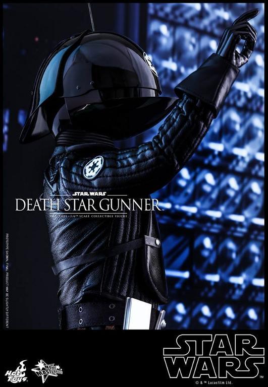 Hot Toys Star Wars - 1/6th scale Death Star Gunner Figure Gunner18