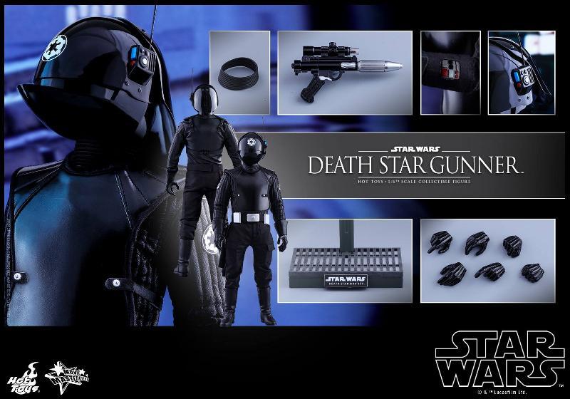 Hot Toys Star Wars - 1/6th scale Death Star Gunner Figure Gunner22