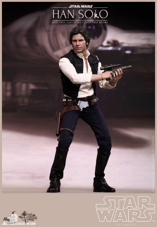 Hot Toys Star Wars IV 1/6th Han Solo Collectible Figure Han-so13