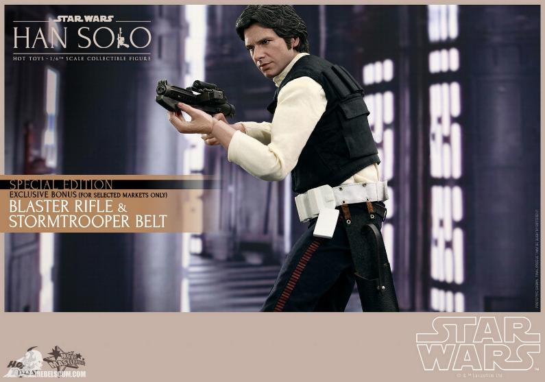 Hot Toys Star Wars IV 1/6th Han Solo Collectible Figure Han-so15