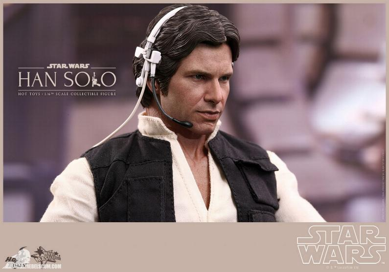 Hot Toys Star Wars IV 1/6th Han Solo Collectible Figure Han-so16