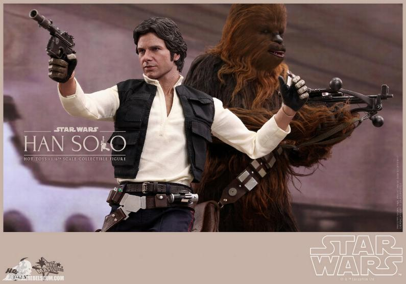 Hot Toys Star Wars IV 1/6th Han Solo Collectible Figure Han-so17