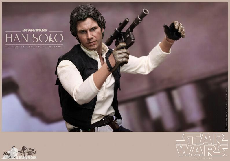 Hot Toys Star Wars IV 1/6th Han Solo Collectible Figure Han-so20
