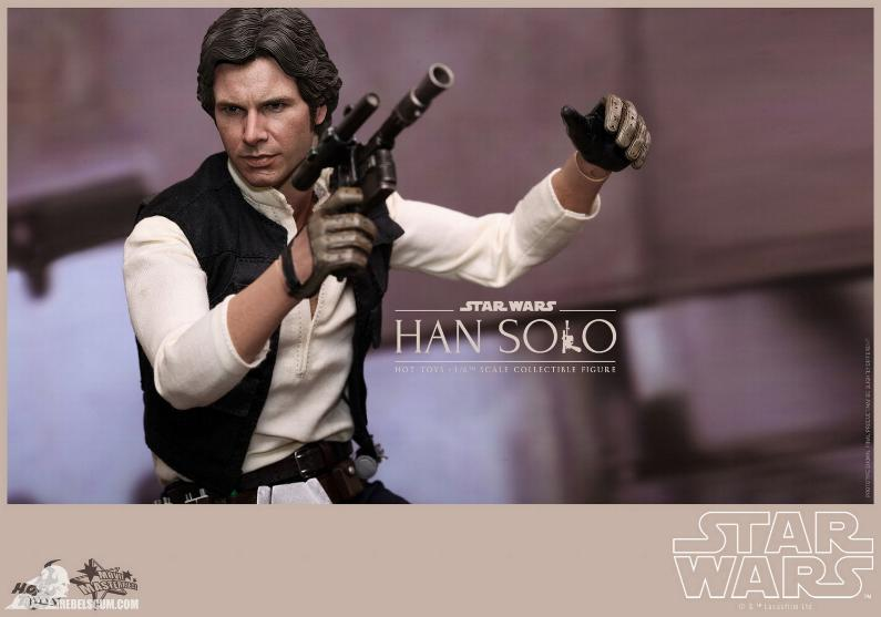 Hot Toys Star Wars IV 1/6th Han Solo Collectible Figure Han-so21
