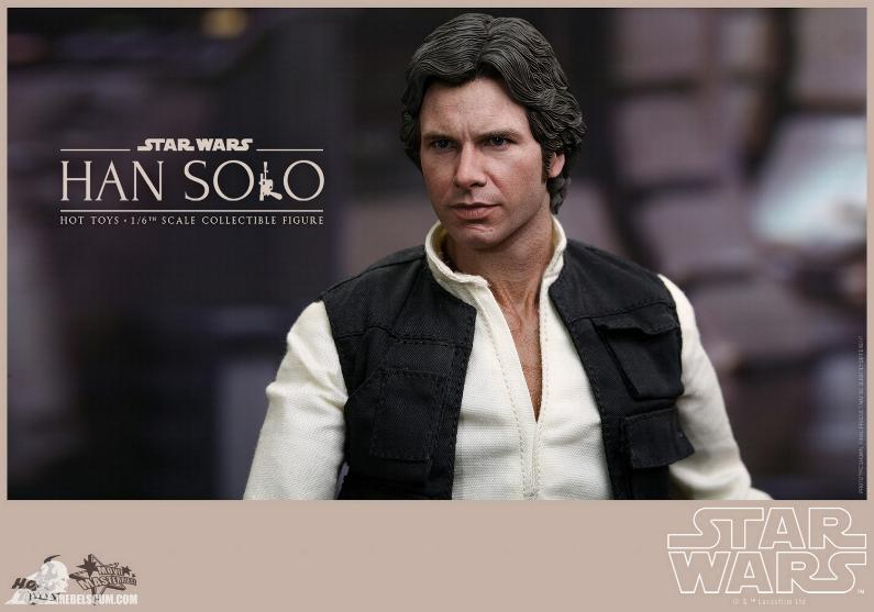 Hot Toys Star Wars IV 1/6th Han Solo Collectible Figure Han-so22