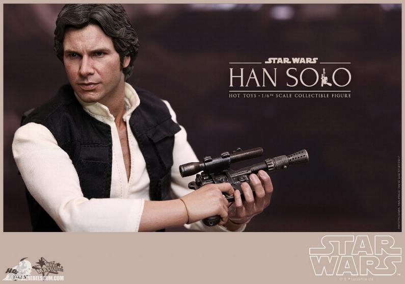 Hot Toys Star Wars IV 1/6th Han Solo Collectible Figure Han-so24