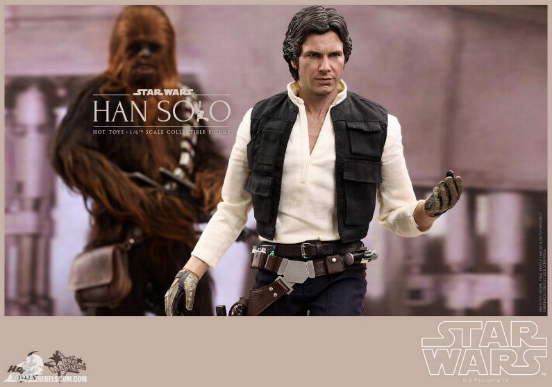 Hot Toys Star Wars IV 1/6th Han Solo Collectible Figure Han-so25