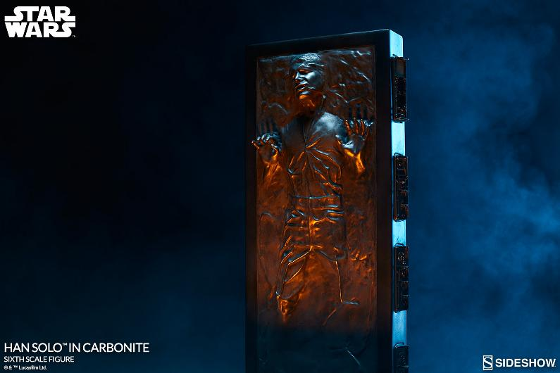 Sideshow - Han Solo in Carbonite Sixth Scale Figure Han-so26