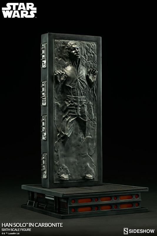 Sideshow - Han Solo in Carbonite Sixth Scale Figure Han-so27