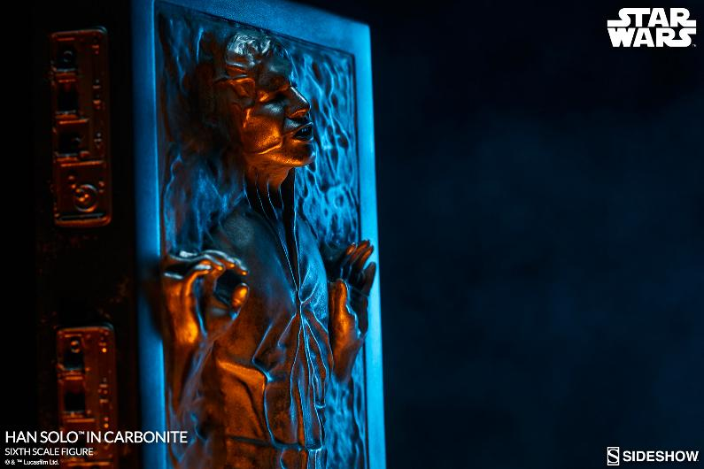 Sideshow - Han Solo in Carbonite Sixth Scale Figure Han-so29