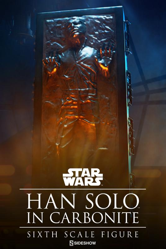 Sideshow - Han Solo in Carbonite Sixth Scale Figure Han-so30