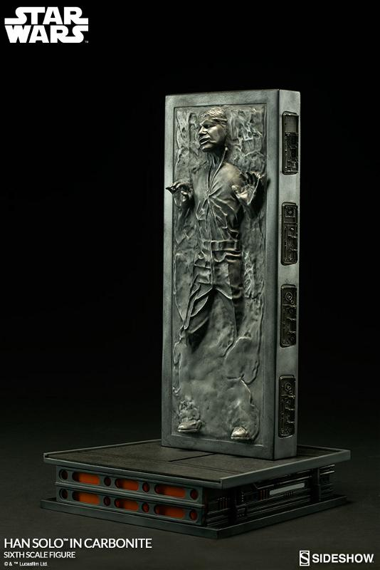 Sideshow - Han Solo in Carbonite Sixth Scale Figure Han-so31
