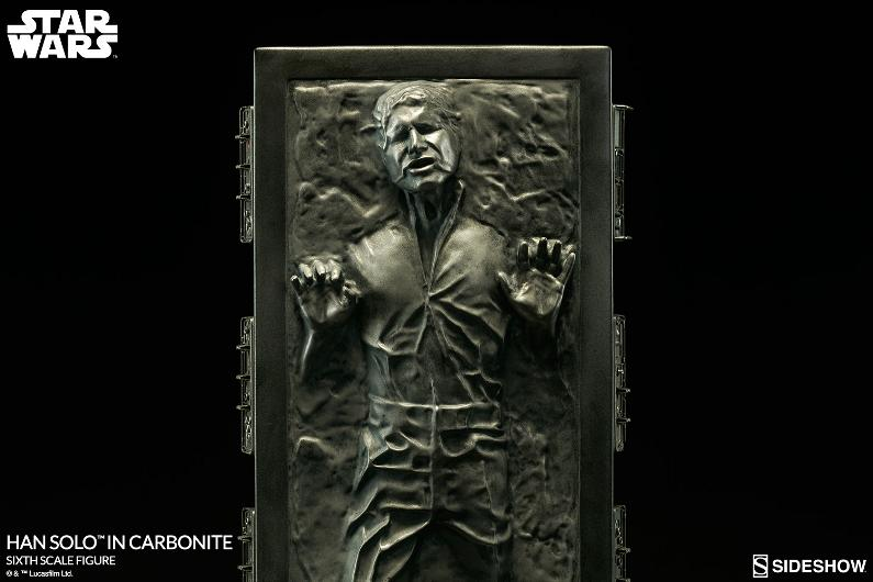 Sideshow - Han Solo in Carbonite Sixth Scale Figure Han-so34
