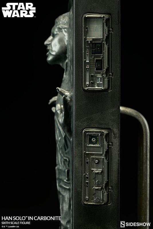 Sideshow - Han Solo in Carbonite Sixth Scale Figure Han-so35