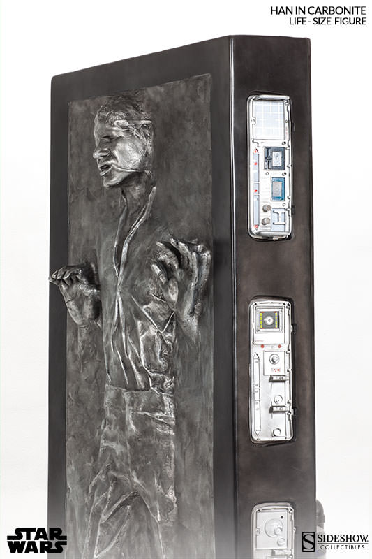Sideshow - Han solo in Carbonite - Life Size Figure - Page 2 Hanlif24