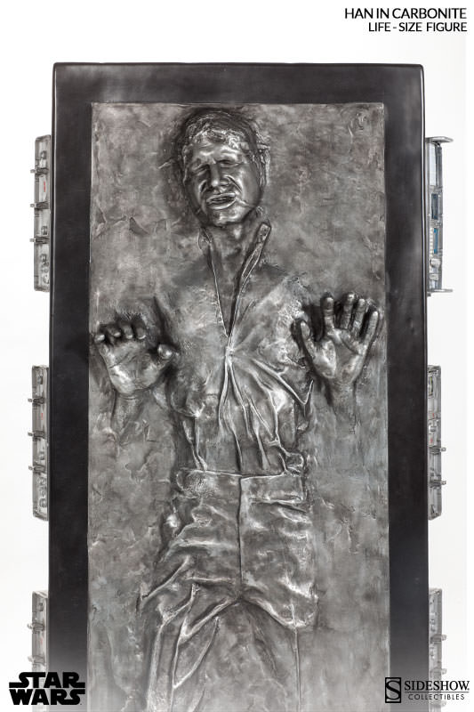 Sideshow - Han solo in Carbonite - Life Size Figure - Page 2 Hanlif25