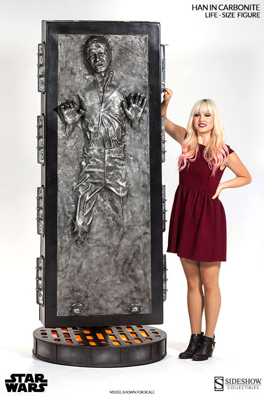 Sideshow - Han solo in Carbonite - Life Size Figure - Page 2 Hanlif26