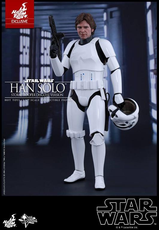 Hot Toys - Star Wars - 1/6th Han Solo Stormtrooper Disguise Hansto10