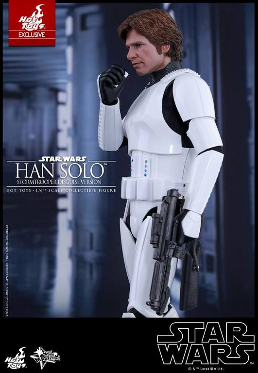 Hot Toys - Star Wars - 1/6th Han Solo Stormtrooper Disguise Hansto11