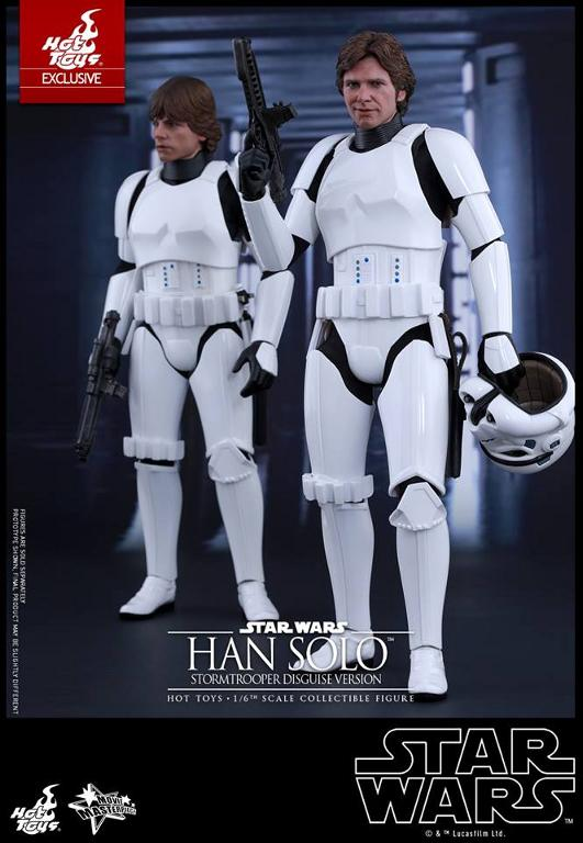 Hot Toys - Star Wars - 1/6th Han Solo Stormtrooper Disguise Hansto12