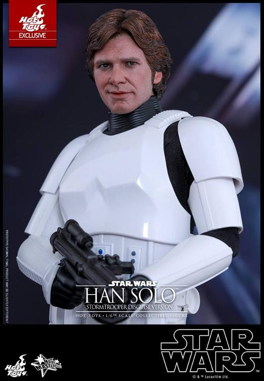 Hot Toys - Star Wars - 1/6th Han Solo Stormtrooper Disguise Hansto13