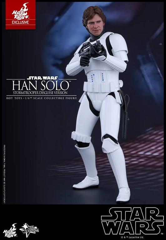 Hot Toys - Star Wars - 1/6th Han Solo Stormtrooper Disguise Hansto14