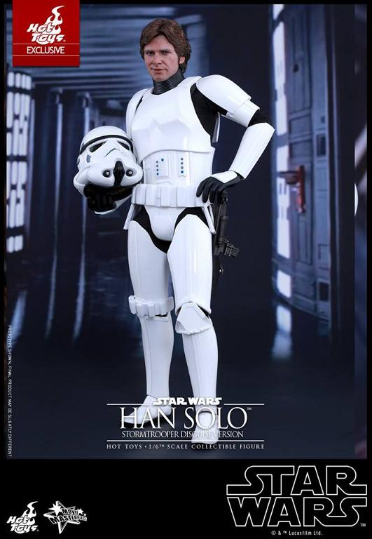 Hot Toys - Star Wars - 1/6th Han Solo Stormtrooper Disguise Hansto15