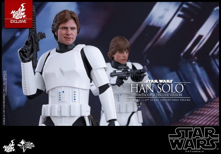 Hot Toys - Star Wars - 1/6th Han Solo Stormtrooper Disguise Hansto16
