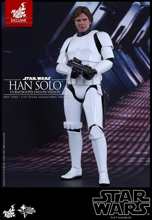 Hot Toys - Star Wars - 1/6th Han Solo Stormtrooper Disguise Hansto17