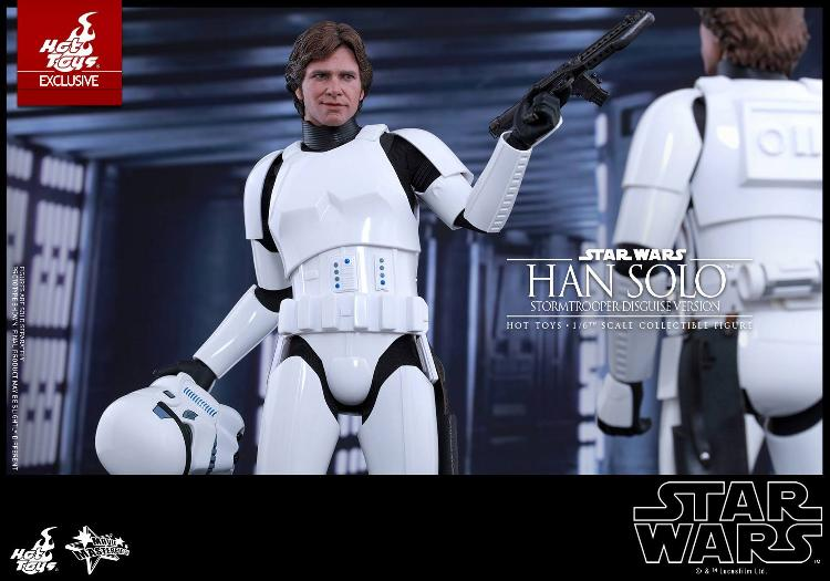 Hot Toys - Star Wars - 1/6th Han Solo Stormtrooper Disguise Hansto18