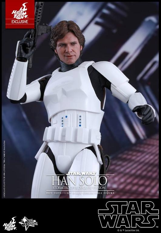 Hot Toys - Star Wars - 1/6th Han Solo Stormtrooper Disguise Hansto19