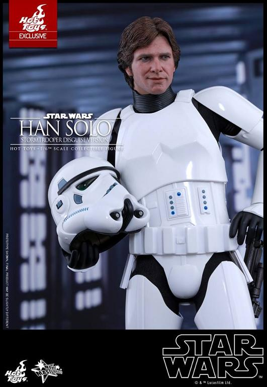 Hot Toys - Star Wars - 1/6th Han Solo Stormtrooper Disguise Hansto20