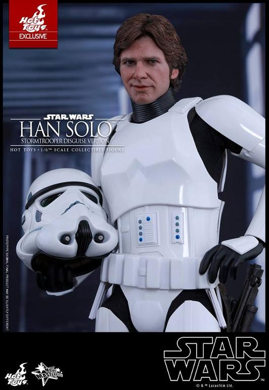 Hot Toys - Star Wars - 1/6th Han Solo Stormtrooper Disguise Hansto21