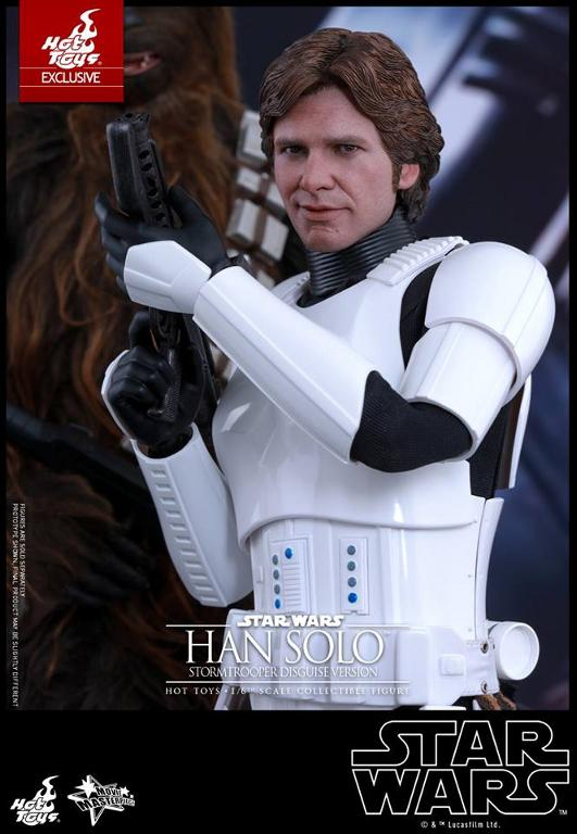 Hot Toys - Star Wars - 1/6th Han Solo Stormtrooper Disguise Hansto22