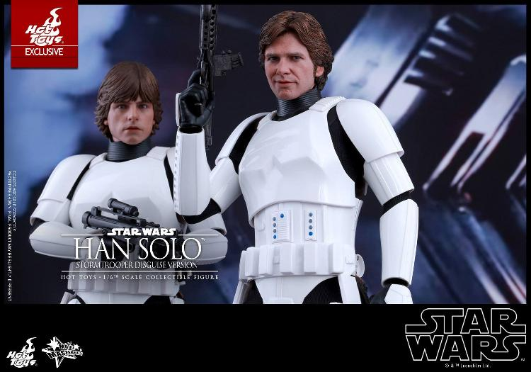 Hot Toys - Star Wars - 1/6th Han Solo Stormtrooper Disguise Hansto23