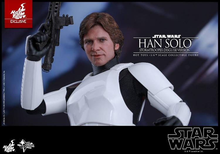 Hot Toys - Star Wars - 1/6th Han Solo Stormtrooper Disguise Hansto24