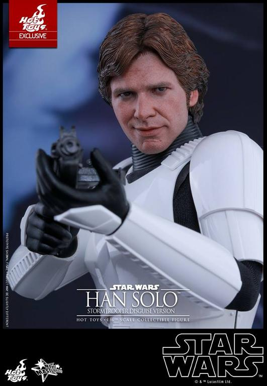 Hot Toys - Star Wars - 1/6th Han Solo Stormtrooper Disguise Hansto25
