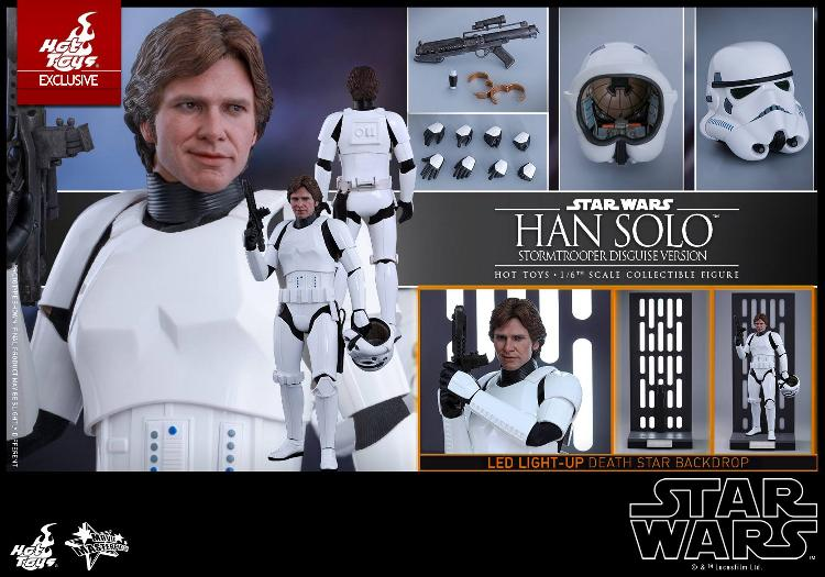 Hot Toys - Star Wars - 1/6th Han Solo Stormtrooper Disguise Hansto26