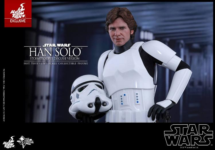 Hot Toys - Star Wars - 1/6th Han Solo Stormtrooper Disguise Hansto27