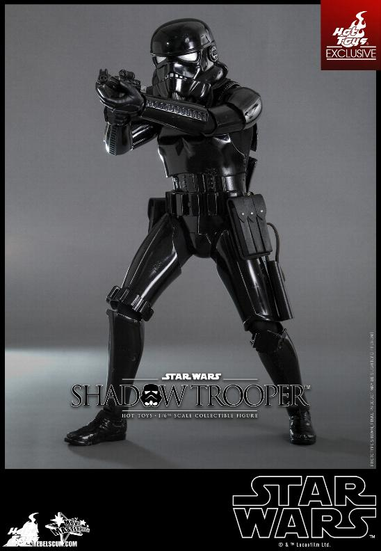 Hot Toys Star Wars - 1/6th Scale Shadow Trooper Figure Hot-to13