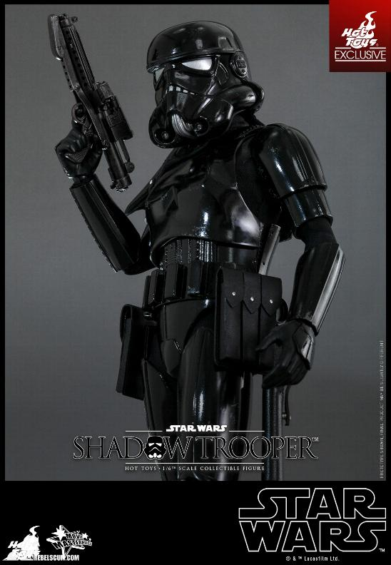 Hot Toys Star Wars - 1/6th Scale Shadow Trooper Figure Hot-to14