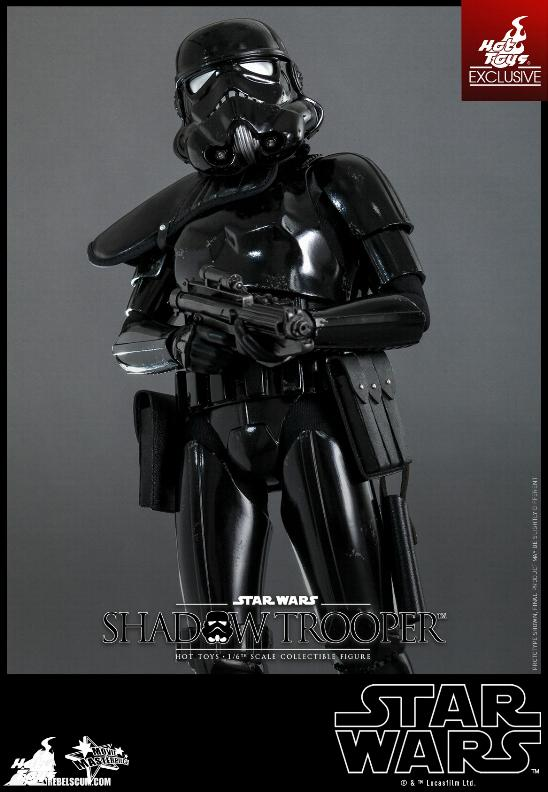 Hot Toys Star Wars - 1/6th Scale Shadow Trooper Figure Hot-to15